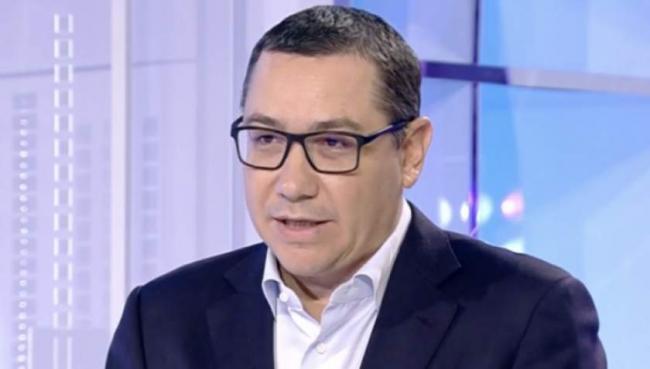 Ponta susţine că nu putem să avem performanţă cu un Guvern condus de Dăncilă