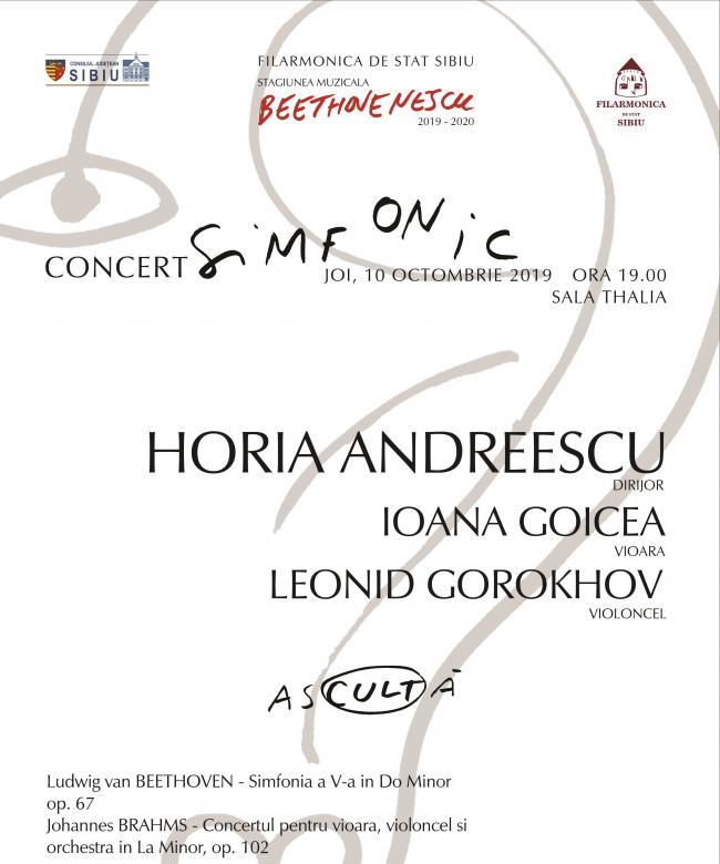 În noua stagiune a Filarmonicii, asCULTați Beethovenescu!