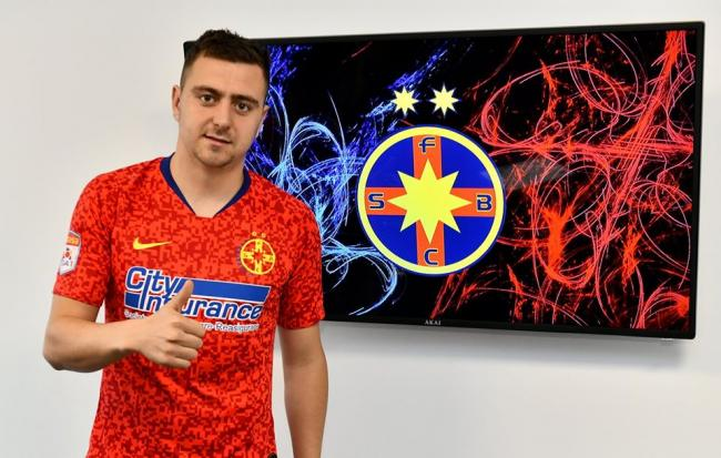 FCSB, the first transfer after the humiliation with Dinamo. He is the substitute for Iulian Cristea