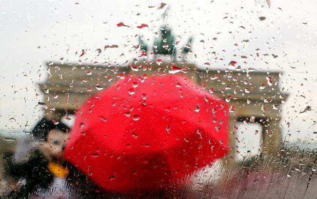 Umbrele inteligente cu informaţii despre ploaie