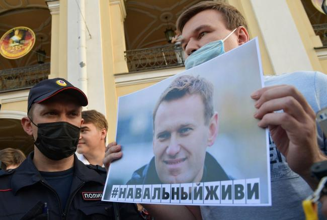About 1,000 people detained in Russia during protests over Aleksei Navalny's arrest