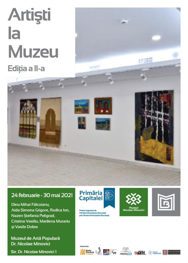 Museographers and restorers of the Museum of Bucharest invite the public to know their artistic universe