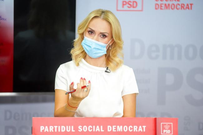 Gabriela Firea, appeal to PNL and USR general councilors: We hope that they will participate in the CGMB meeting