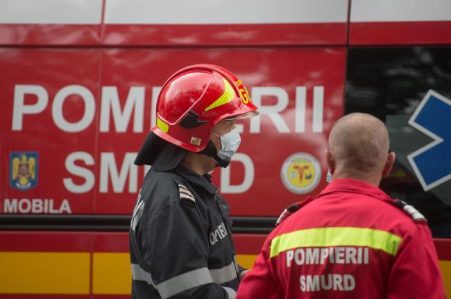 Bombero de Arad: nunca he tenido que lidiar con una explosión seguida de un incendio