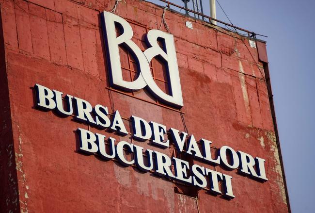 La Bolsa de Valores de Bucarest perdió 3.390 millones de lei en capitalización esta semana