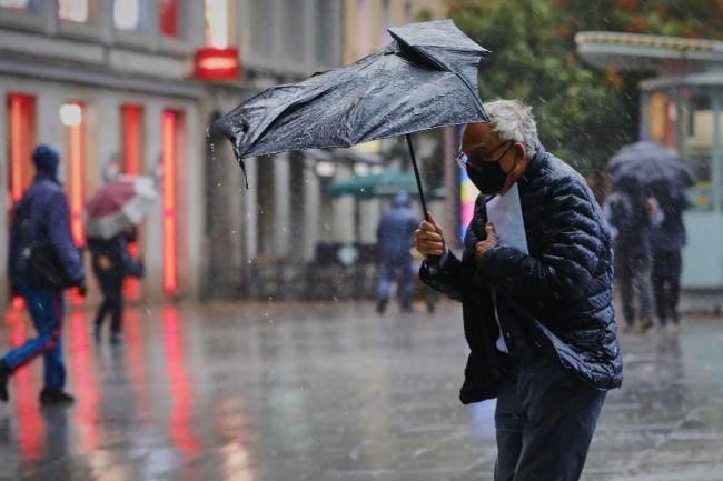Código naranja para viento y lluvia en los condados de Sibiu y Vâlcea