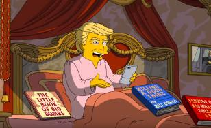 VIDEO! Un promo pentru 'The Simpsons' în care Trump este făcut de râs a devenit viral pe internet