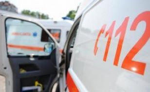 A driver fell into the river Dâmboviţa