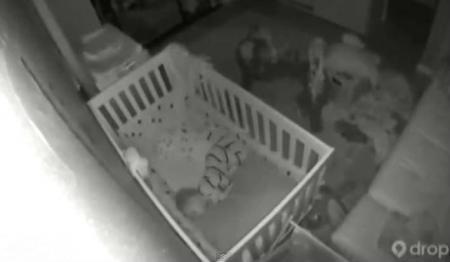 CUTREMURUL DEVASTATOR din California, surprins de camera video care supraveghea un bebeluş. REACŢIA INCREDIBILĂ a micuţului (VIDEO)