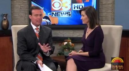 Un cunoscut prezentator TV din SUA face un anunţ ŞOCANT în timpul emisiunii. Reacţia INCREDIBILĂ a colegei de platou (VIDEO)