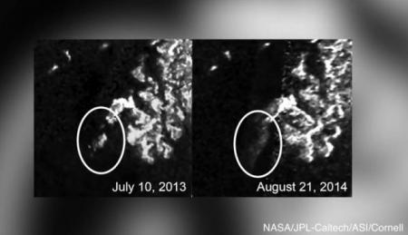 Apariţie MISTERIOASĂ pe Titan. Ce au descoperit cercetătorii NASA pe satelitul planetei Saturn (VIDEO)