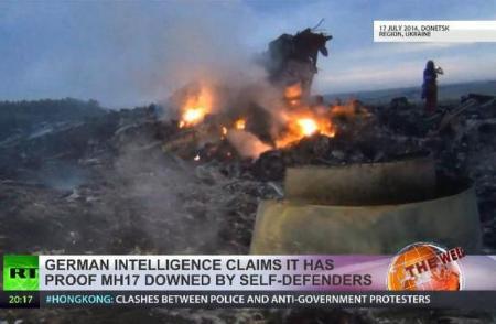 DEZVĂLUIRE BOMBĂ în cazul prăbuşirii zborului MH17. Serviciile secrete germane au anunţat cine a doborât avionul malaezian (VIDEO)