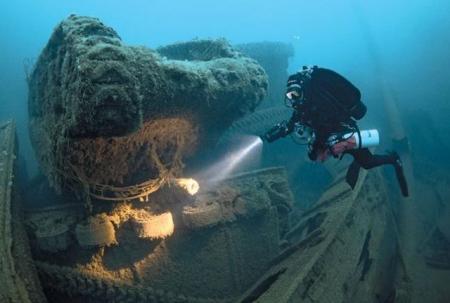 DESCOPERIRE EPOCALĂ pe fundul oceanului! Ce au găsit arheologii americani în largul coastelor Carolinei de Nord (VIDEO)