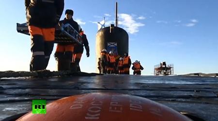 PRIMELE IMAGINI din interiorul unui submarin nuclear rusesc! Demonstraţie ÎN PREMIERĂ cu o rachetă balistică Bulava (VIDEO)