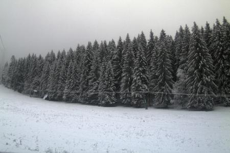 NINGE la munte! Imagini LIVE de pe pârtiile din România pe webcam jurnalul.ro
