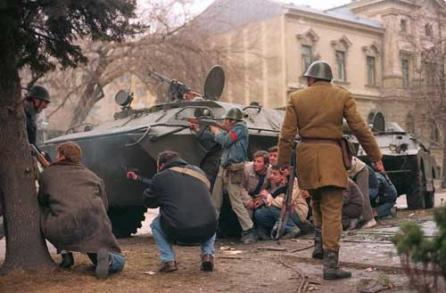 """VIDEO. Luptătorii din """"Rezistenţă"""". Manualul teroriştilor din decembrie '89"""