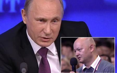 GAFĂ INCREDIBILĂ, marca Putin! Ce-i spune liderul rus unui jurnalist care a suferit două atacuri cerebrale (VIDEO)