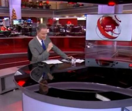 Scenă EPICĂ în studiourile BBC, de Crăciun! Ce au văzut milioane de telespectatori, LIVE, în timpul buletinului de ştiri (VIDEO)