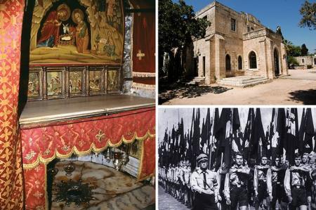 Secta NAZISTA a TEMPLIERILOR asteapta revenirea lui Isus in ADEVARATUL loc al nasterii sale