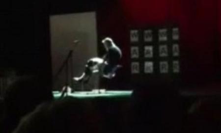 SCENĂ ŞOCANTĂ pe scenă, într-o zi de vineri, 13. Ce păţeşte un iluzionist în timpul unui număr de magie (VIDEO)