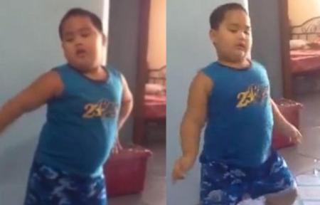 N-ai voie să nu-l vezi! Un puşti RUPE podeaua pe melodia Bang Bang, a lui Nicki Minaj (VIDEO)
