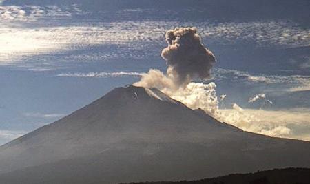 OBIECT MISTERIOS, filmat intrând în craterul vulcanului Popocatepetl. Vezi ÎNREGISTRĂRI INCREDIBILE din Mexic