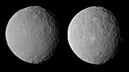 Imagini NASA. Au uitat extraterestrii lumina aprinsa pe planeta pitica Ceres?