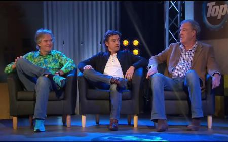 """Întâlnire de """"taină"""" între Jeremy Clarkson, James May şi Richard Hammond"""