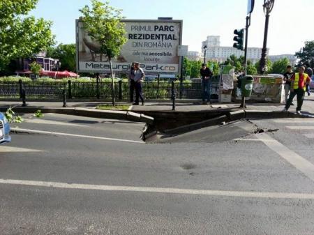 Anunt oficial al Apei Nova despre groapa de la Podul Izvor