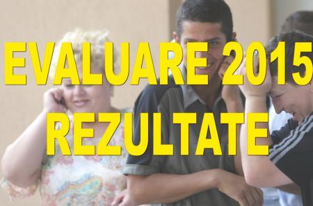 VEZI AICI REZULTATELE DE LA EVALUAREA NAŢIONALĂ 2015 - CENTRALIZATOR