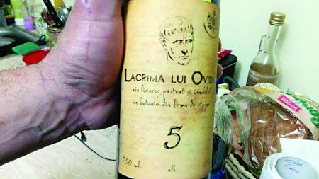 Ruşinea Murfatlar: Lacrima lui Ovidiu, o poşircă produsă în Spania