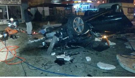 Fiul unui interlop din Vâlcea a murit zdrobit într-un accident auto
