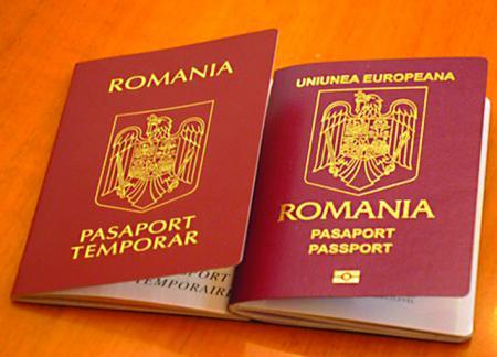 Pașapoartele românești, produse cu voie de la un SRL unguresc