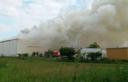 Dezastrul de la depozitul de arhive Dărăști:În incendiu au ars contracte de credit de milioane de euro!