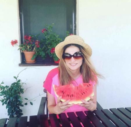 Ioana Ginghina a tinut zece zile cura de slabire cu pepene! Rezultatul a fost spectaculos