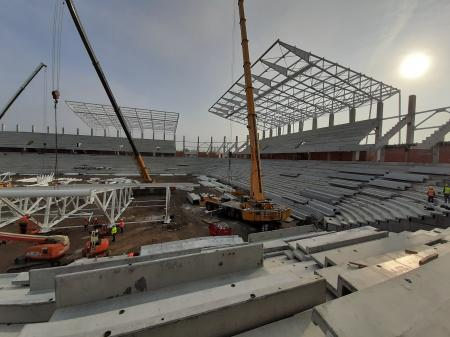 Galerie FOTO Constructor: Noul Stadion Steaua e finalizat în proporţie de 65%