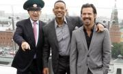Will Smith a pleznit un jurnalist care a încercat să îl sărute (VIDEO)
