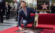 Hugh Jackman a primit o stea pe Walk of Fame din Los Angeles