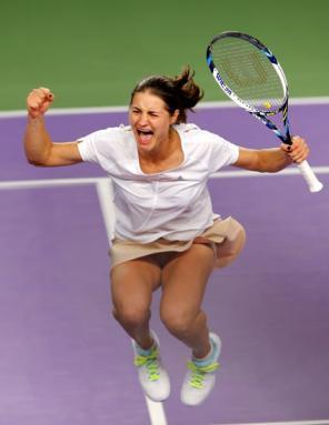 Fed Cup: Monica Niculescu a învins-o pe Kvitova şi a restabilit egalitatea în meciul România - Cehia