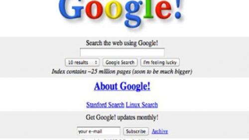 GALERIE FOTO: Cum au evoluat Facebook, YouTube, Google şi Twitter de când s-au lansat