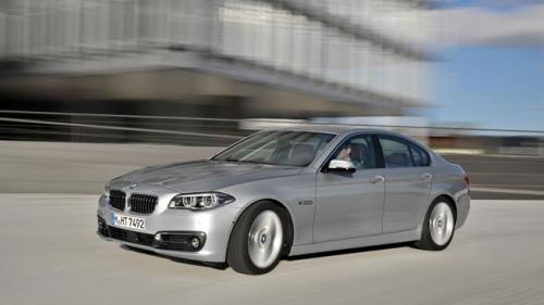 Primele fotografii oficiale cu Noul BMW Seria 5