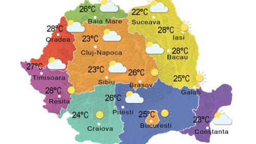 Prognoza meteo 23 iunie 2015