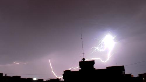 Pagube în orașul Negrești în urma furtunii