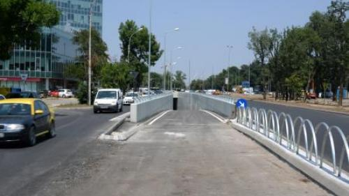 Pasajul rutier de la Piaţa Presei va fi pus în funcţiune duminică