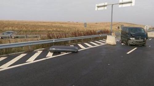 GRAV ACCIDENT pe autostrada Lugoj-Deva