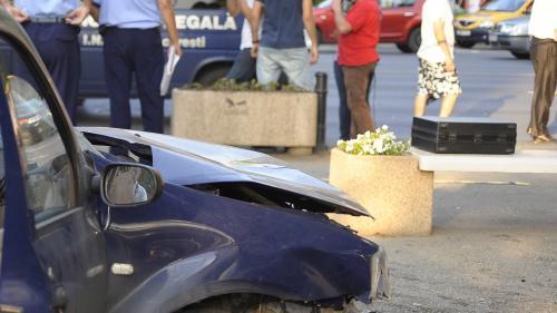 ACCIDENT rutier GRAV pe bulevardul Biruinţei din Bucureşti