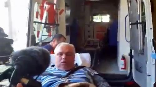 VIDEO - Nicușor Constantinescu, dus cu ambulanța și jandarmii la Curtea de Apel