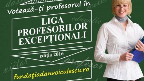 Liga Profesorilor Excepţionali a intrat în linie dreaptă: cei mai buni zece profesori din România ai anului 2016 așteaptă voturile românilor