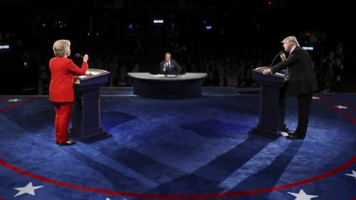 Confruntare cu scântei între Clinton și Trump