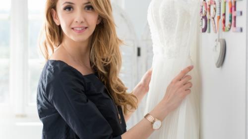 Andreea Apetre, de la actorie la antreprenoriat, pe segmentul de bridal fashion